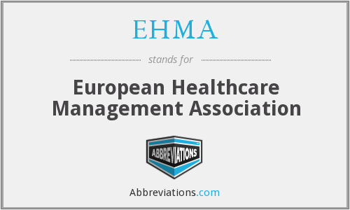 What does EHMA stand for?