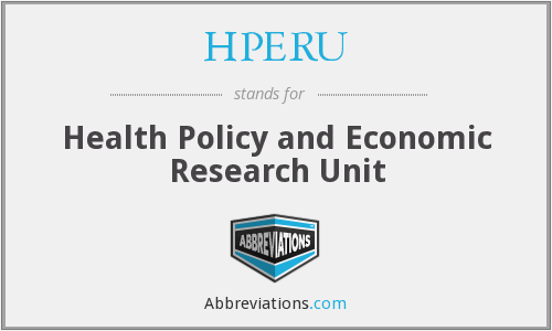 What does HPERU stand for?