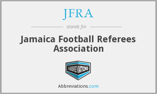 What does JFRA stand for?