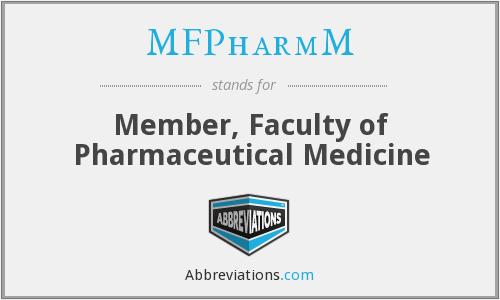 What does MFPHARMM stand for?