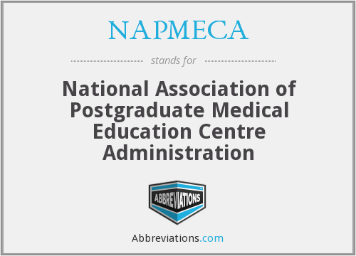 What does NAPMECA stand for?