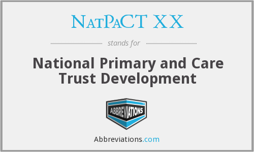 What does NATPACT XX stand for?