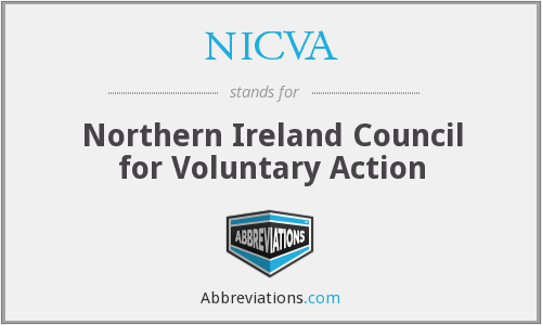 What does NICVA stand for?