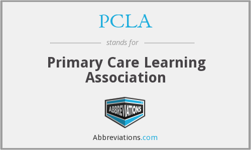What does PCLA stand for?