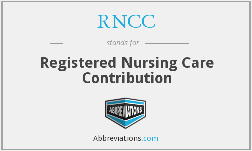 What does RNCC stand for?