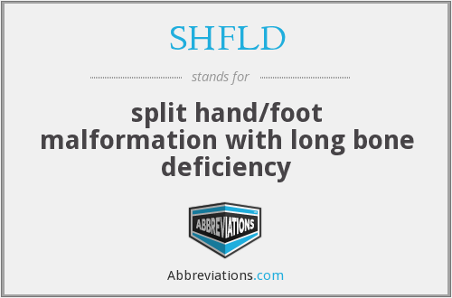 What does SHFLD stand for?