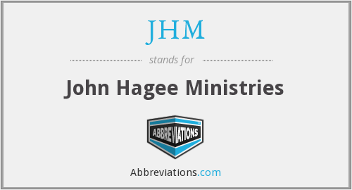 What does JHM stand for?