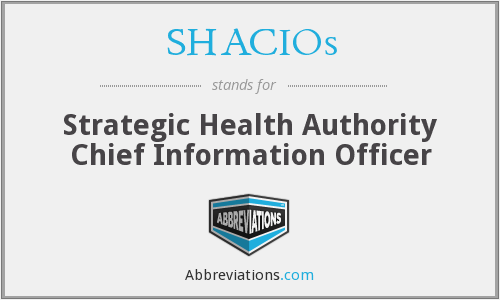 What does SHACIOS stand for?