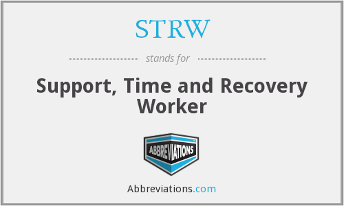 What does STRW stand for?