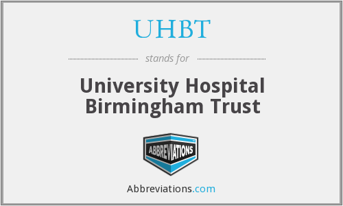 What does UHBT stand for?