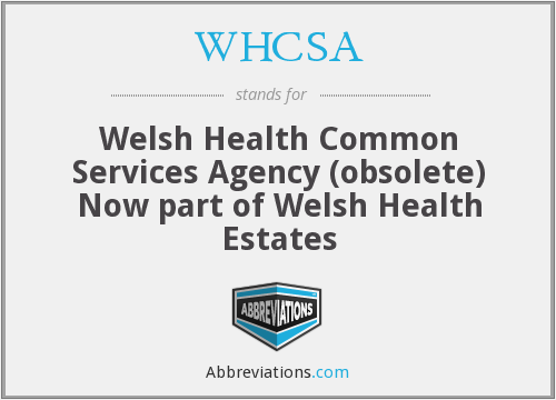 What does WHCSA stand for?