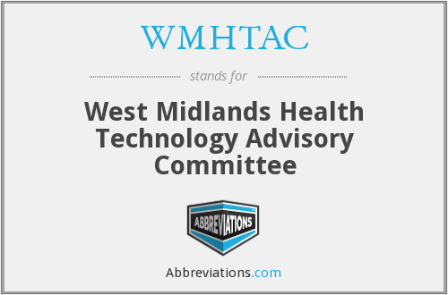 What does WMHTAC stand for?