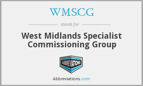 What does WMSCG stand for?