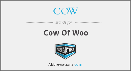 What does COW stand for?
