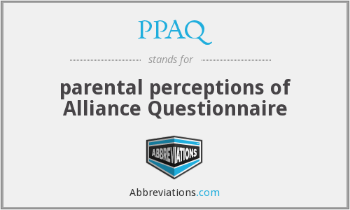 What does PPAQ stand for?