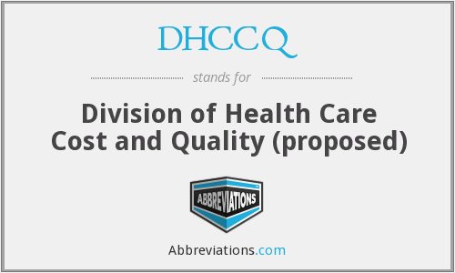 What does DHCCQ stand for?