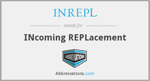 What does INREPL stand for?