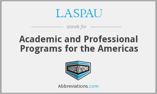 What does LASPAU stand for?