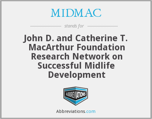 What does MIDMAC stand for?