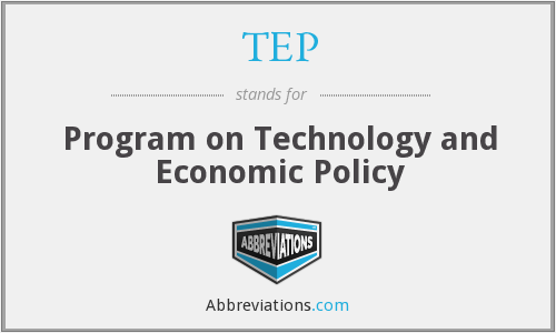 What does TEP stand for?