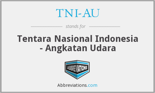 What does TNI-AU stand for?