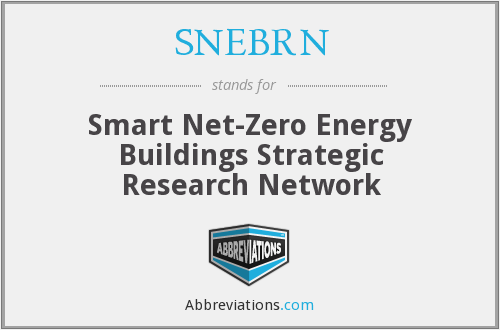 What does SNEBRN stand for?