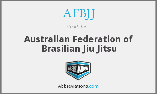 What does AFBJJ stand for?