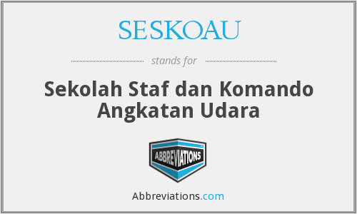 What does SESKOAU stand for?