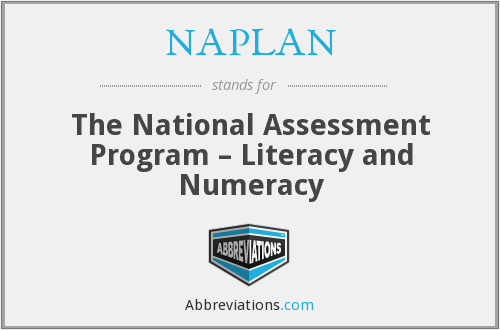 What does NAPLAN stand for?