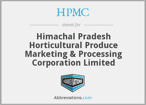 What does HPMC stand for?