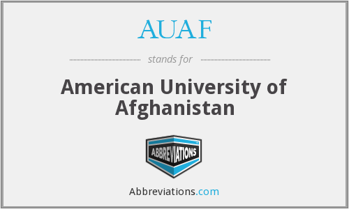 What does AUAF stand for?