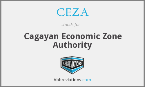 What does CEZA stand for?