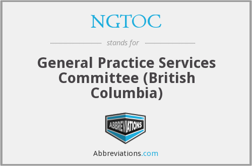 What does NGTOC stand for?