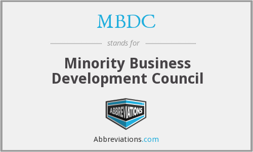 What does MBDC stand for?