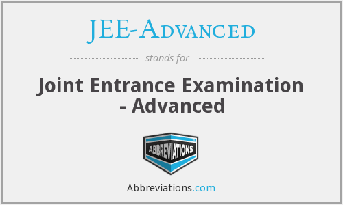 What does JEE-ADVANCED stand for?