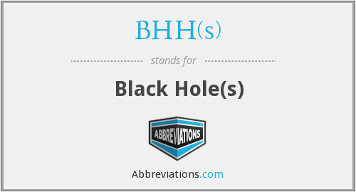 What does BHH(S) stand for?