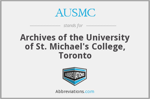What does AUSMC stand for?