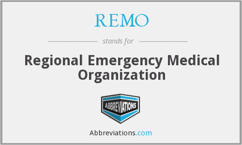 What does REMO stand for?