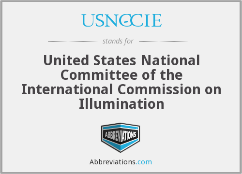 What does USNC-CIE stand for?
