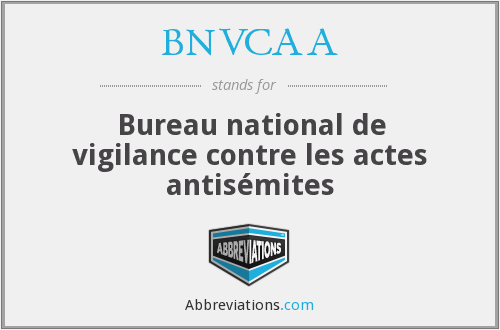 What does BNVCAA stand for?