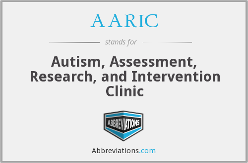What does AARIC stand for?