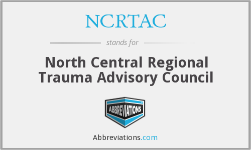 What does NCRTAC stand for?