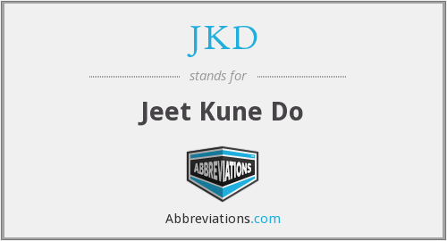 What does JKD stand for?