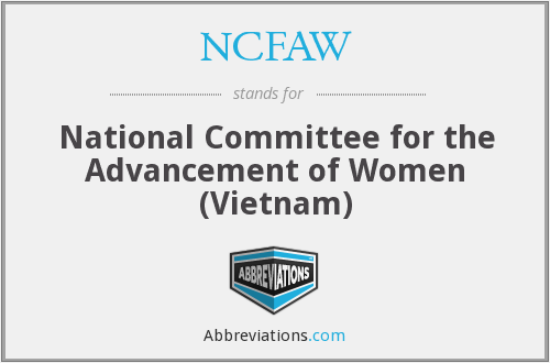 What does NCFAW stand for?