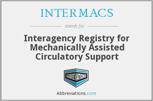 What does INTERMACS stand for?