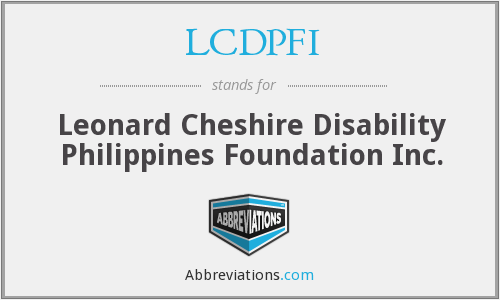 What does LCDPFI stand for?