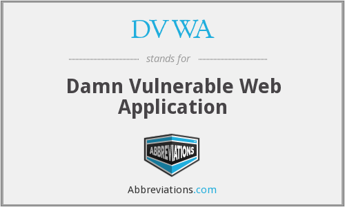 What does DVWA stand for?