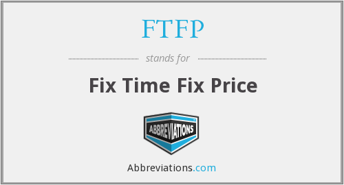 What does FTFP stand for?