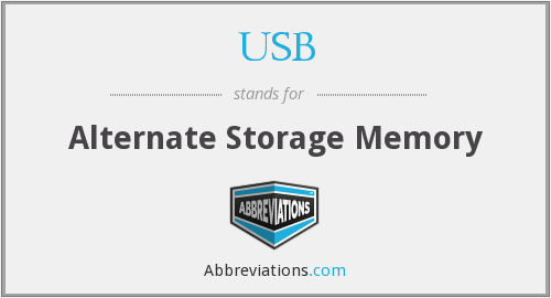 What does USB stand for?