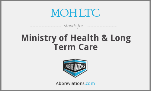 What does MOHLTC stand for?